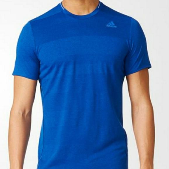 Adidas camicie nwt sz grandi uomini climalite nova tee poshmark